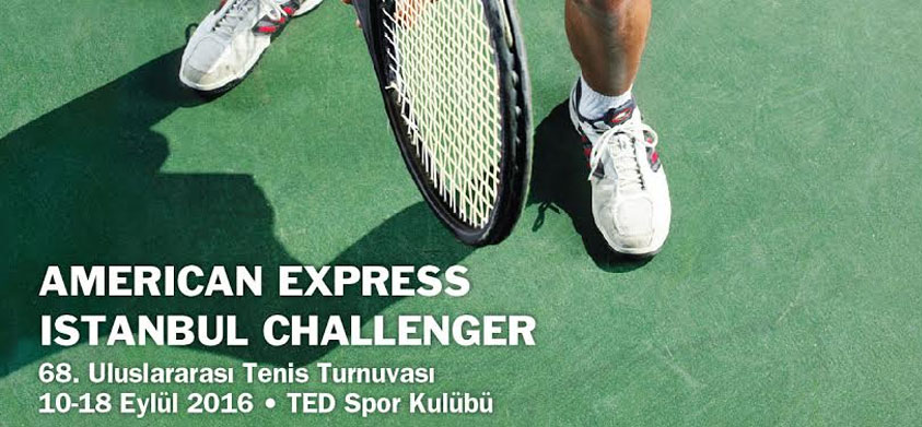 AMERICAN EXPRESS ISTANBUL CHALLENGER AFİŞ